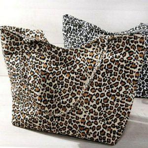 NEW🌸Large Leopard Print Tote Bag
